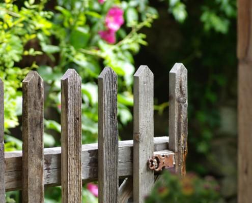 Tor zur Gartenlust-Bio Bauernhof Leitenmüller