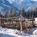 zauberhafter Bauerngarten-Landurlaub im Winter Bio Bauernhof Leitenmüller