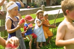 Kinderprogramm am Bio Bauernhof Leitenmüller