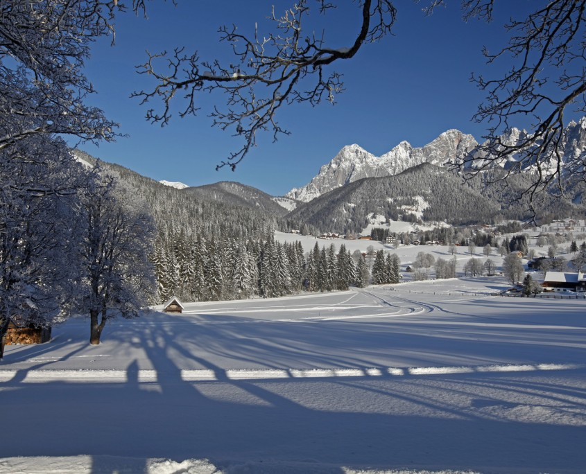 Winterlandschaft von Ramsau am Dachstein
