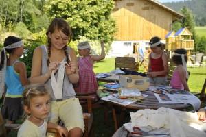 Kinder Betreuung im Urlaub - Bio Bauernhof Leitenmüller