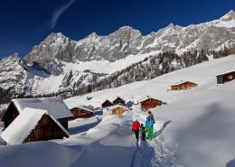 Ramsau am Dachstein Winterwandern Neustattalm