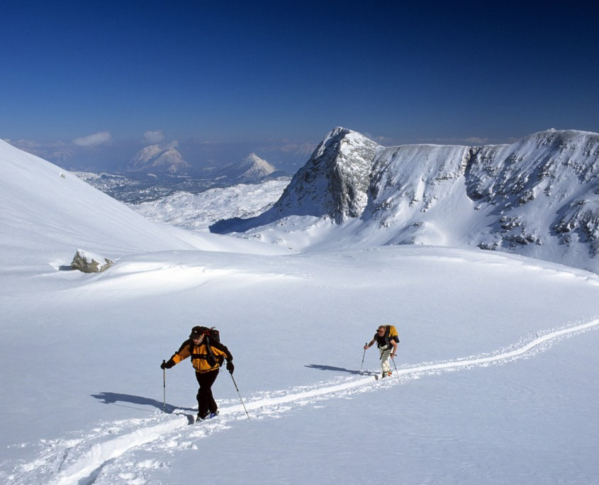 Skitour am Dachstein Gletscher-Bio Bauernhof Leitenmüller