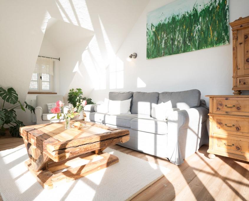 Schöne Kammer gemütlicher Wohnbereich-Bio Bauernhof Leitenmüller